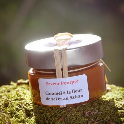 Caramel à la fleur de sel et au safran
